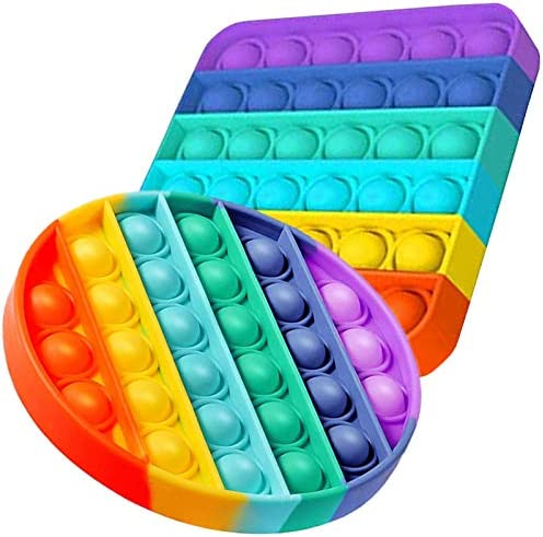 WQFXYZ Pop Push it Sensory Toys Push Sensory Toys can Relieve Stress Special Multi Shaped Toys product image