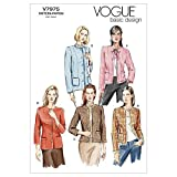 Vogue Patterns Manca '/ Manca' Petite Giacca - Modello FW (18-20 - 22)