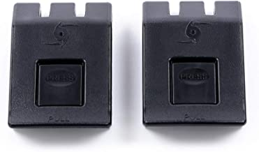 2 Black Replacement latches for Pelican iM Storm Cases.