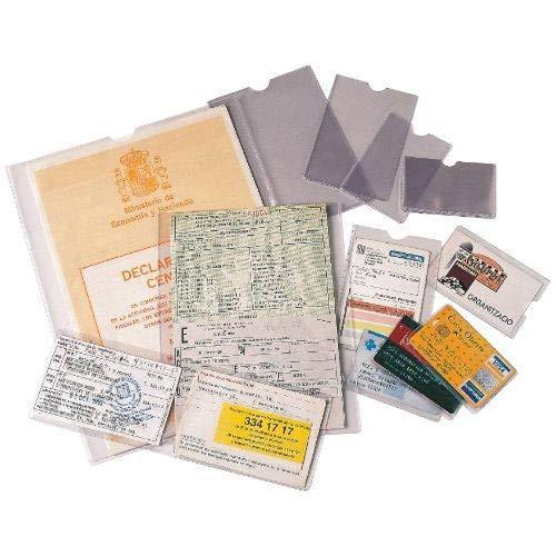 ESSELTE 46010 - Caja 100 portacarnets 170Q 171 x 221 mm (Tamaño cuarto) ✅