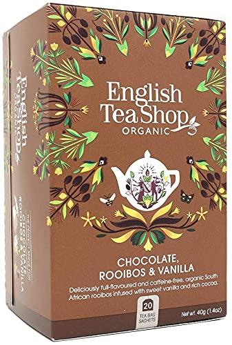English Tea Shop - Chocolate, Rooibos & Vanilla - 20 Sachets - 40g