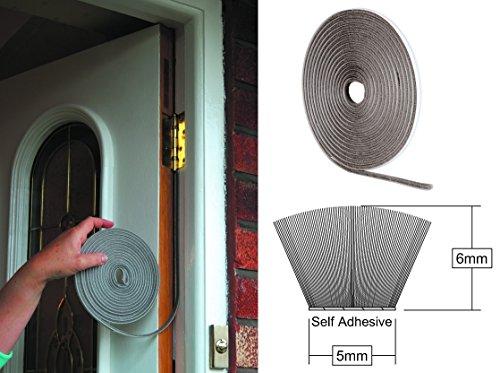 Stormguard zelfklevende penseel stapel tape - tocht uitsluiter voor ramen en deuren