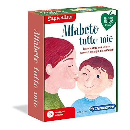 Clementoni-16148-Sapientino-Alfabeto Tutto Mio, Gioco educativo, Multicolore, 16148