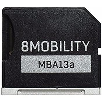 Silver by 8Mobility Late 2012 to Early 2015 Aluminum MicroSD Storage Adapter for MacBook Pro Retina 13-inch A1425 A1502