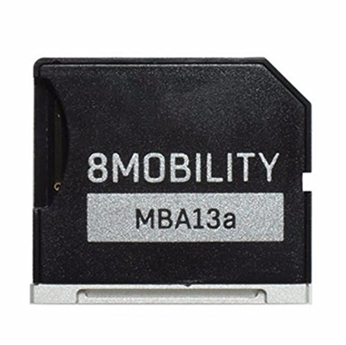8MOBILITY iSlice Aluminum MicroSD Storage Adapter for MacBook Air 13'' (Late 2010 to Early 2015)- Silver