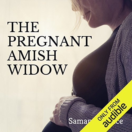 The Pregnant Amish Widow audiobook cover art