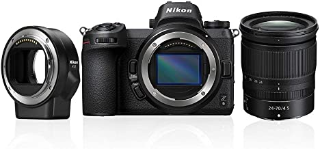 Nikon Z6 - Cámara sin Espejos de 24.5 MP (Pantalla LCD de 3.2