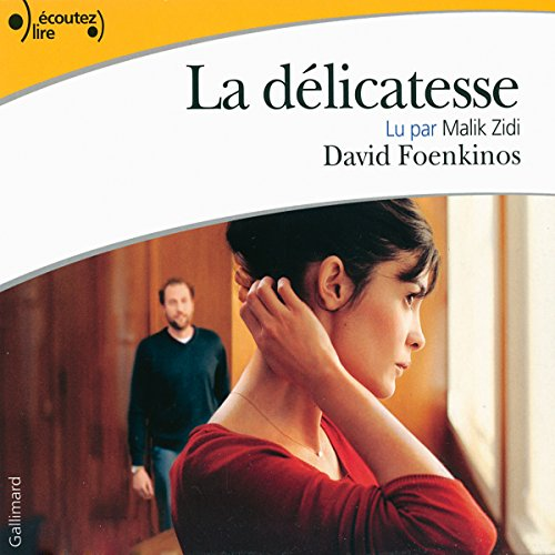 La délicatesse audiobook cover art
