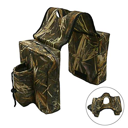 Sale!! Wilove ATV UTV Snowmobile Motorcycle Cargo Pocket Tank Storage Saddle Bags Waterproof