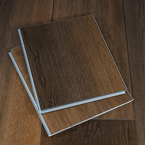 "Modin Rigid Vinyl Plank Flooring, Click, Durable 40 Mil Wear Layer, Raeburn, 12"" Cut Sample"
