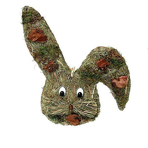 Small-Preis Türkranz Wandkranz Hasenkopf Natur ca. 40 cm Frühling - Ostern - Willkommensgruß 442