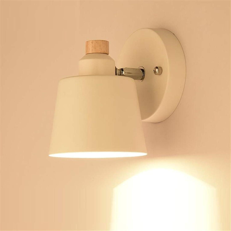 Plafonniernordic Art Bois Lampes Chambre Minimaliste Moderne Lampe De Chevet Japonaise Salon Allée Créative Lampe Murale En Bois Massif