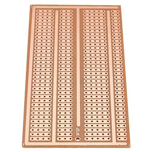 Ils - 1 Piezas 5x10cm Lado Copper PCB Prototipo Papel