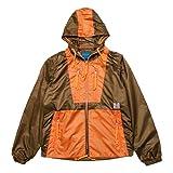 【 IRIE LIFE/アイリーライフ 】 2Tone Nylon Jacket (2トーン ナイロンジャケット) / ブラウン M/着丈63cm 身幅51cm 肩幅40cm 枚数