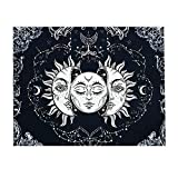 Tapestry Wandteppich Mandala Bohemian Dekoration Tapisserie Wand Dekoration Yoga Schlafzimmer Wandkunst Boho Wanddekoration Boho Wandbehang Buddha Leinwand Tapastry Für Wand 150 * 130