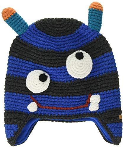 Barts Jungen Monster Beanie Baskenmütze, Blau (0004-BLUE 004L), 51 (Herstellergröße: 50)
