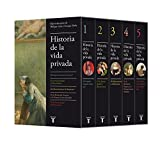 Historia de la vida privada (edición estuche con los 5 volúmenes) (Pensamiento) (Spanish Edition)