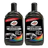 Turtle Wax 52708 Color Magic Pulido Y Brillo para Pintura Nera Negra 500Ml