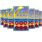 8u02317 - Pack x672 Fulminantes Aros De 8 Tiros, Fulminantes 8 Tiros para Pistolas de Juguete (Pack x672)