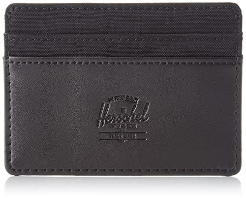 Herschel 11011 – 03608 Charlie Orion RFID Black Unisex – Adulto Cartera Talla única