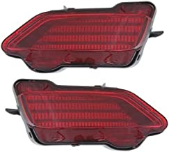 Rear Bumper Reflector Compatible with Toyota RAV-4 13-15 RH and LH