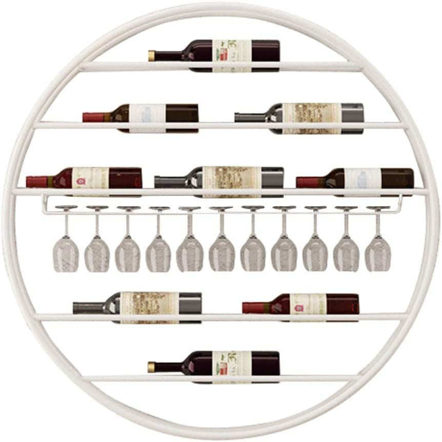 Max 40% OFF PEDDQ Wine Champagne Storage Rack M Round gift Wall Mounted