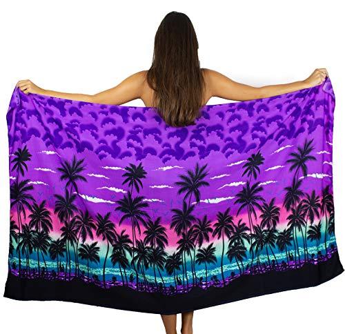 V.H.O. Funky Hawaiian Sarong Big, Beach, Purple