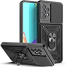 Samsung A52 Case (2021), Galaxy A52 Case, [Military-Grade] [360 Kickstand & Slide Camera Protector] Hybird Impact-Resistant Bumpers Cover Phone Case for Samsung Galaxy A52 5G (Black)