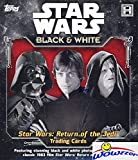 2020 Topps Star Wars Return of the Jedi Black & White Factory Sealed HOBBY Box with AUTO Or SKETCH Card! Look for Autos of Harrison Ford, Carrie Fisher, Billy Dee Williams,Peter Mayhew & More! WOWZZER