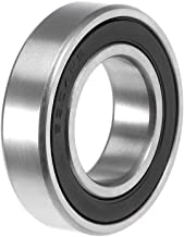 uxcell 6904-2RS Deep Groove Ball Bearing 20x37x9mm Double Sealed ABEC-3 Bearings 1-Pack