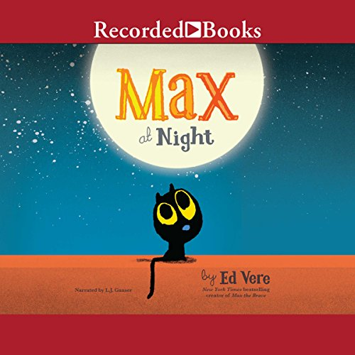 Max at Night audiobook cover art