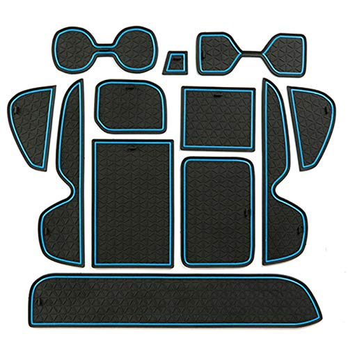 QOMFNG para Toyota RAV4 XA50 RAV 4 50 MK5 2019 2020, Alfombrilla Antideslizante para Coche, Alfombrilla para Puerta Antideslizante, Accesorios para el Estilo del Coche