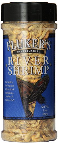 Fluker's Freeze Dried River Shrimp Pet Food, 1-Ounce