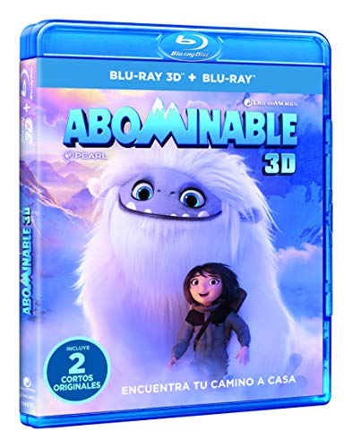Abominable (Blu-ray 3D + BD) [Blu-ray]