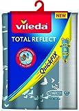 Vileda – Housse de table à repasser Total Reflect – Housse de repassage pour toutes les tailles de planches – Avec revêtement métallisé pour repassage ultra rapide