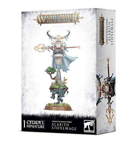 Games Workshop Warhammer AoS - Lumineth Realm-Lords Alarith StoneMage