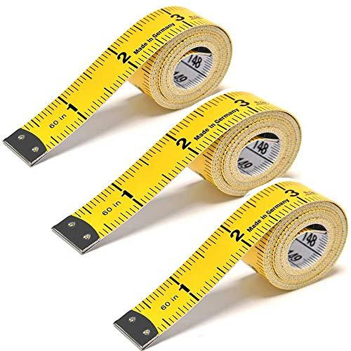 3 Piezas Regla de Medición Del Cuerpo, Cinta Métrica Flexible y Versátil, Se Puede Utilizar Para Cortar, Perder Peso, Medir El Pecho y La Cintura En Casa