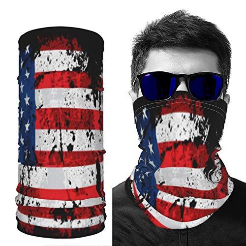 saibing Polaina para el cuello, unisex, protección UV, antifaz de Grunge, impermeable, transpirable, para esquí, motocicleta, ciclismo, correr, senderismo