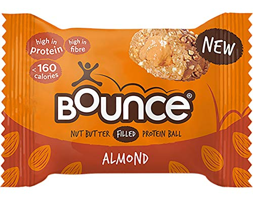 Bounce Nut Butter Filled Protein Balls 35g Pack of 12 (Almond)
