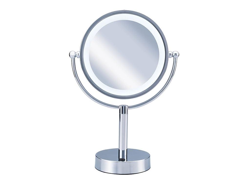 エッセンスあなたが良くなりますセージコイズミ 拡大鏡 LEDライト付き 中型φ145mm KBE-3010/S