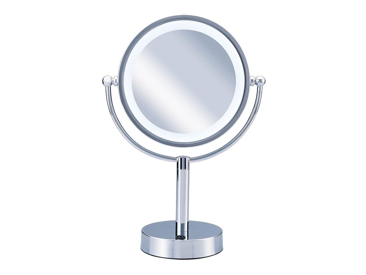 反論彼女自身類似性コイズミ 拡大鏡 LEDライト付き 中型φ145mm KBE-3010/S