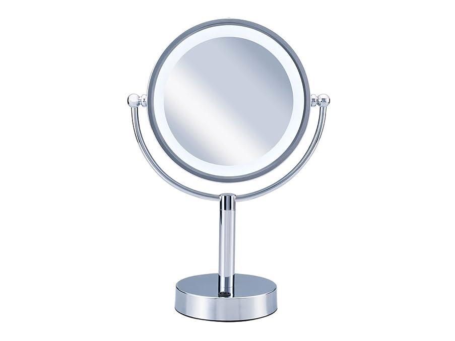 治安判事湖振りかけるコイズミ 拡大鏡 LEDライト付き 中型φ145mm KBE-3010/S