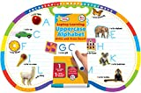 Active Minds - Write-and-Erase - Wipe Clean Laptop Learning Uppercase Alphabet Double Sided Learning Board - Ages 4+