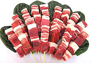 島根 天然ジビエ いのしし肉 串焼き用20本(約700g)5本×4パック