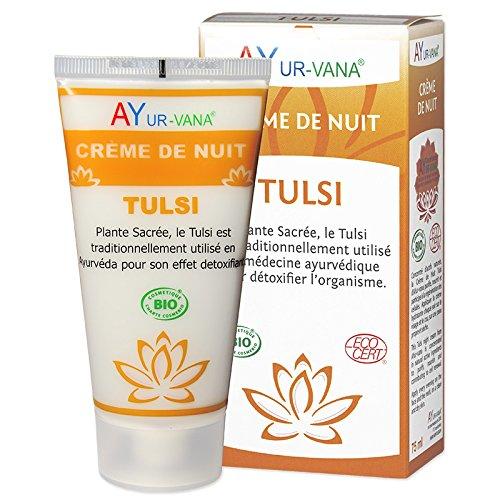 AYur-vana Tulsi Crema de noche Bio 75 ml