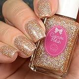 Beauty is Everywhere - Nude Holo Glitter Nail Polish by Cupcake Polish