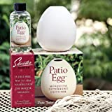Skeeter Screen Patio Egg: Mosquito & Insect Deterrent & Diffuser: Includes Essential Oils