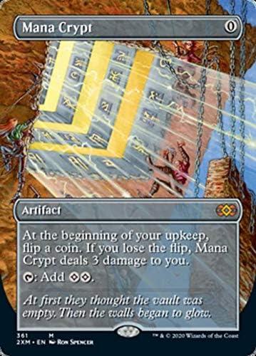 Mana Crypt Over item handling - Foil Borderless mart