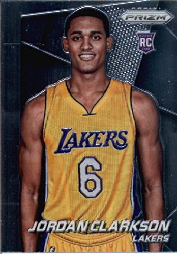 2014 Panini Prizm Basketball Rookie Card (2014-15) IN SCREWDOWN CASE #287 Jordan Clarkson - Los Angeles Lakers ENCASED