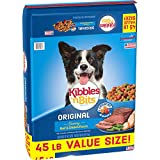 Kibbles'N Bits 45 Lb Original Savory Beef & Chicken Flavors Dry Dog Food, Large